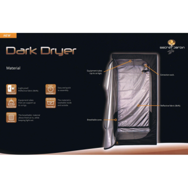 DARK DRYER Rev 1,5- 90 x 90 x 180 cm