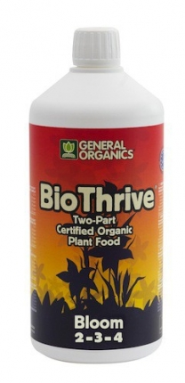 General Hydroponics General Organics Bio Thrive Bloom 1l
