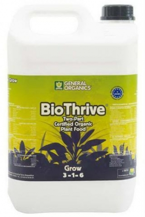 General Hydroponics General Organics Bio Thrive Grow 5l